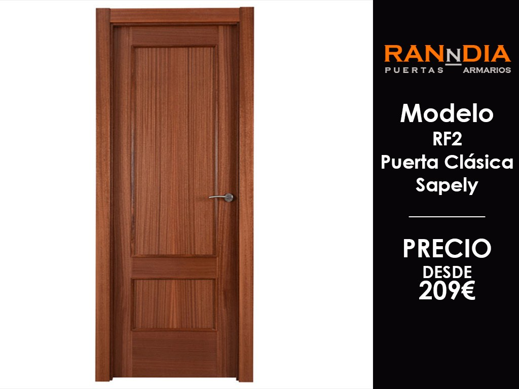 Puertas de interior cool modelo puerta interior rustica for Puertas de interior precios